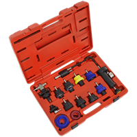 Sealey 13 Piece Cooling System Pressure Test Kit