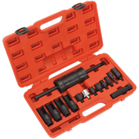 Sealey 14 Piece Diesel Injector Puller Set