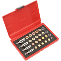 Sealey VS660 Drain Plug Thread Repair Set