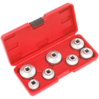 Sealey 7 Piece Oil Filter Cap Wrench Set