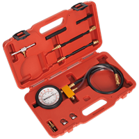 Sealey Test Port Fuel Injection Pressure Test Set