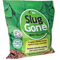Vitax Slug Gone Wool Pellets for Killing Slugs