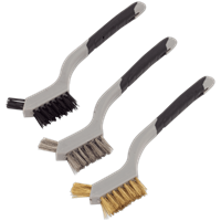 Sealey 3 Piece Mini Wire Hand Brush Set