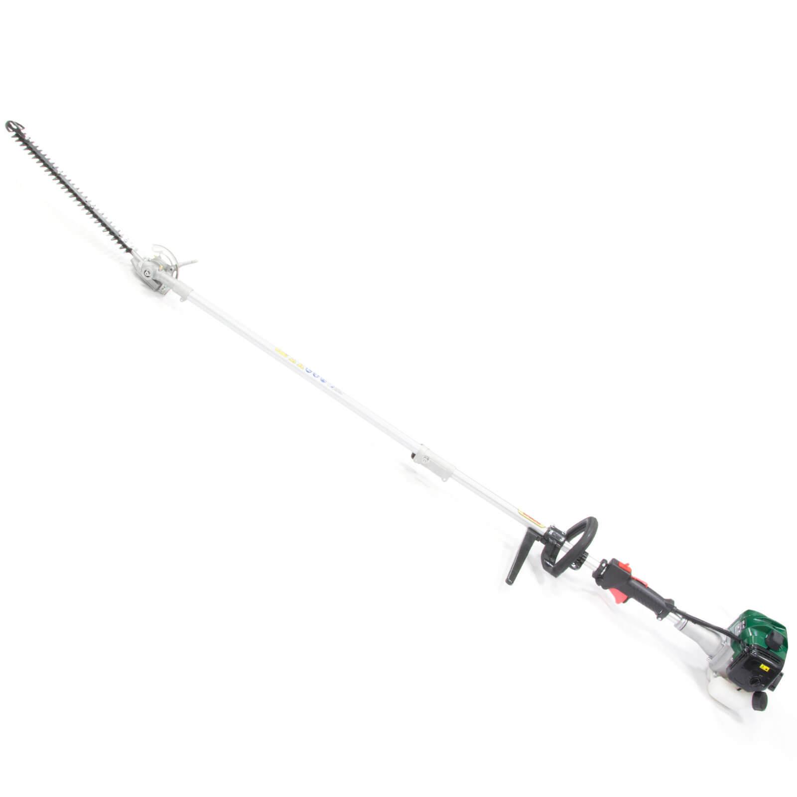 Webb WEPHT26 Split Shaft Long Petrol Hedge Trimmer 430mm FREE Lubricant, Safety Glasses & Gloves Worth �10.99