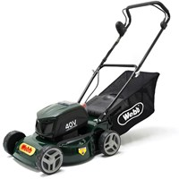 Webb R16LIHP Supreme 40v Cordless Rotary Lawnmower 410mm