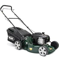 Webb WER18HP Push Petrol 3 in 1 Rotary Lawnmower 460mm
