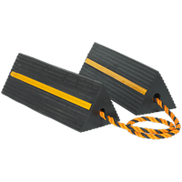 Sealey Heavy Duty Rubber Wheel Chocks