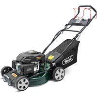 Webb WER460ES Classic Self Propelled Electric Start Petrol Rotary Lawnmower 460mm