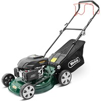 Webb WER460SP Classic Self Propelled Petrol Rotary Lawnmower 460mm