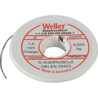 Weller Resin Core Electronic Solder Reel