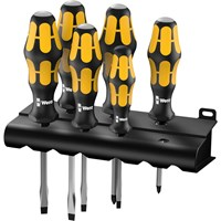 Wera 6 Piece Kraftfoktor Screwdriver Set