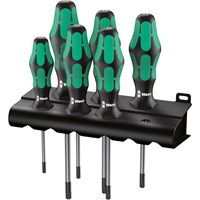 Wera 6 Piece Kraftform Torx Screwdriver Set