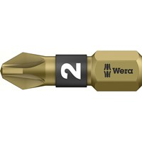 Wera BiTorsion Extra Hard Pozi Screwdriver Bit