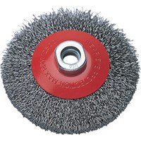 Wolfcraft Conical Crimped Wire Wheel Brush
