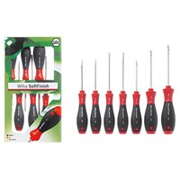 Wiha 7 Piece Slotted & Phillips Screwdriver Set