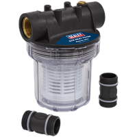 Sealey 1 Litre Inlet Filter for Surface Water Pumps