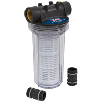 Sealey 2 Litre Inlet Filter for Surface Water Pumps