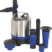 Sealey WPP1750S Stainless Steel Submersible Pond Water Pump