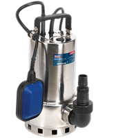 Sealey WPS225A Submersible Stainless Steel Dirty Water Pump