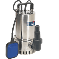 Sealey WPS250A Stainless Steel Submersible Clean Water Pump