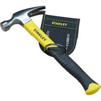 Stanley Fiberglass Claw Hammer and Loop