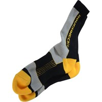 Roughneck Mens Compression Work Socks 2 Pairs Size 6 - 12