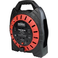Faithfull Semi Enclosed Cable Reel 240V