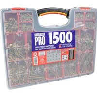 Forgefix 1500 Piece Screw Assortment Case