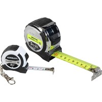 Komelon 2 Piece Powerblade Tape Measure Set
