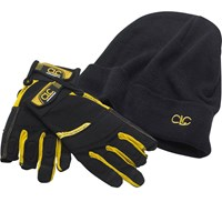 Kunys Carpenters Framer's Flexi-Grip Gloves and Beanie Hat