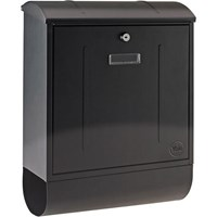 Yale Montana Postbox Black Newspaper Holder