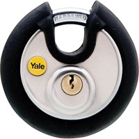 Yale Stainless Steel Disc Padlock