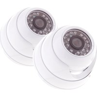 Yale Alarms Hdc-302W-2 Indoor Hd 720 Dome Camera Twin Pack