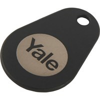 Yale Alarms Keyless Connect Key Tag Black