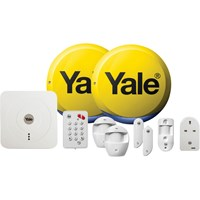 Yale Alarms Sr-340 Smart Home Alarm, View and Control Kit