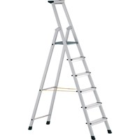Zarges Anodised Trade Platform Step Ladder