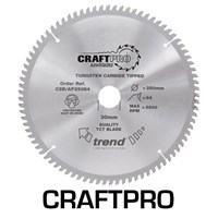 Trend CRAFTPRO Aluminium and Plastic Cutting Saw Blade