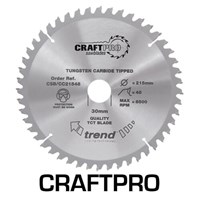 Trend CRAFTPRO Wood Cutting Mitre Saw Blade