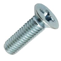 Machine Screw Pozi Countersunk Bright Zinc Plated