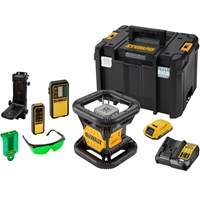 DeWalt DCE079DIG 18v XR Cordless Rotary Green Laser Level Kit