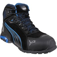 Puma Mens Safety Rio Mid Safety Boots