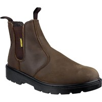 Amblers Mens Safety FS128 Hardwearing Pull On Safety Dealer Boots