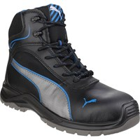 Puma Mens Safety Atomic Mid Water Resistant Safety Boots