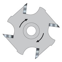 Trend Slotter Blade for 12MM Bore 33/1 Arbor