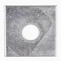 Square Plate Washer Zinc Plated