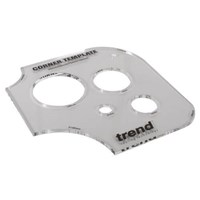 Trend TEMP/COR/A Corner and Hole Template