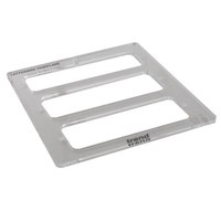 Trend Letterbox Plate Template