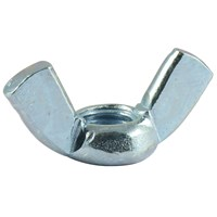 Wing Nuts Bright Zinc Plated