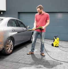 Pressure Washing Car