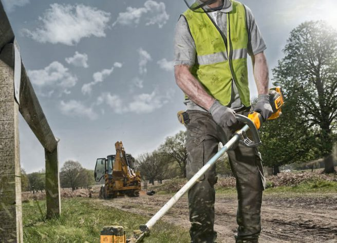 Choosing a cordless strimmer